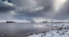 Rannoch Moor (GenerationX) Tags: trees winter snow mountains ice landscape scotland frozen highlands unitedkingdom scottish neil barr rannochmoor bridgeoforchy lochba stobghabhar blackmount meallabhuiridh stobachoireodhair creise clachleathad