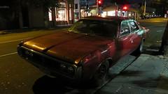 Fitzroy, VIC - Australia (Mic V.) Tags: car by sedan fitzroy australian australia melbourne victoria voiture american vic valiant suburb chrysler saloon 1973 berline ch thu961