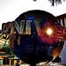 Sunrise on the famous Globe
