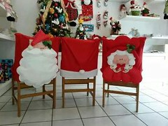 1423967525740 (adriana.comelli) Tags: natal enfeites cadeira capas guirlandas