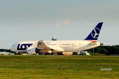 Boeing 787-8 Dreamliner (Bartlomiej Mostek) Tags: europe lot poland polska warsaw boeing warszawa 787 mazowsze epwa dreamliner mazovia polishairlines splrb cn37894