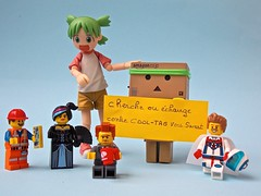 Announce Lego Minifigures  (Damien Saint-) Tags: dark toy japanese amazon lego vinyl batman stormtrooper pepsi fireball hatsune miku yotsuba vador danbo drossel matoi calbee ryuko revoltech nendoroid danboard figma killlakill ryukomatoi