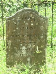 Sabine Tombstone