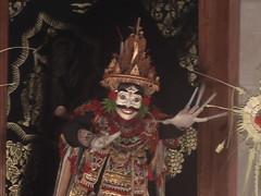 Jauk masked dancer