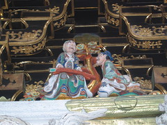 Intricate Carving in Nikko