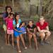 Mi e meninas da tribo Emberá