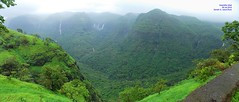 Panorama 8 (Prof.Suresh G. Isave) Tags: varandha onedaytrek tourists attractions near pune maharashtratourism monsoon spots rainy bhor