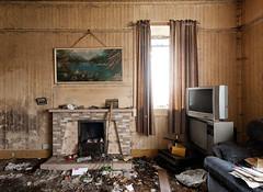 Two TVs (The Flying Monk) Tags: abandoned scotland tv croft westernisles outerhebrides isleofharris