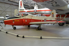 BAC Jet Provest T Mk 5A - The RAF Museum Cosford (dwb transport photos) Tags: bac britishaircraftcorporation jetprovest aeroplane therafmuseumcosford cosford