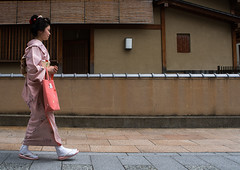 16 Years old maiko called chikasaya walking in the streets of gion, Kansai region, Kyoto, Japan (Eric Lafforgue) Tags: street woman white cute beautiful beauty face japan horizontal female hair asian japanese clothing eyes kyoto colorful asia pretty feminine painted traditional young culture makeup style grace teen maiko geisha teenager kimono gion tradition fullframe oriental sideview youngadult solitary hairstyle youngwoman apprentice oneperson elaborate feminity kanzashi 1617years oneyoungwomanonly 1people kansairegion japaneseethnicity colourpicture japan161680 chikasaya komayaokiya