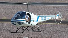 Airwest Aviation Academy Enstrom F-28F N51PD (ChrisK48) Tags: 1996 aircraft airwestaviationacademy airwesthelicopters dvt enstromf28f f28 helicopter kdvt n51pd phoenixaz phoenixdeervalleyairport