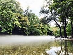 Mist over Voidomatis river. (KC Vrn) Tags: ηπειροσ ιωαννινα βουνο ποταμι ποταμοσ βοιδοματησ αριστη ζαγορι greece epirus ioannina mountains mountain fog mist river voidomatis aristi zagori