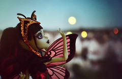 Red Moon Rising (EliMalone) Tags: luna mothews boo york monsterhigh gala ghoulfriends ghoul moth goth red moon evening mattel bloodway mothman jersey doll toy freak