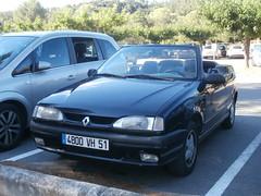 Renault R19 cabrio 1993 nr2076 (a.k.a. Ardy) Tags: 4800vh51 softtop