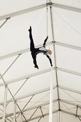 Goryacheva Tatyana (Jul Chitay) Tags: aerial aerialist sport dance flexibility aerialarts arts high aerials splits woman girl