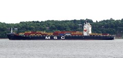 MSC Patricia (Jacques Trempe 2,360K hits - Merci-Thanks) Tags: quebec canada stefoy ship navire fleuve river stlaurent stlawrence conteneur container msc patricia