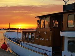 Sonnenuntergang am Stadthafen in Rostock ( Percy Germany  ) Tags: sonnenuntergang2372016 sunset sonnenuntergang rostock percygermany sonnenuntergangrostock amstadthafenrostock