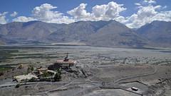 Diskit Monastery (ashwin kumar) Tags: blue leh ladakh kashmir nubravalley rivershyok river shyok himalayas diskit monastery