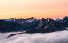 Rainier Sunrise (Anish Patel Photo) Tags: mt rainier mountains clouds sunrise washington