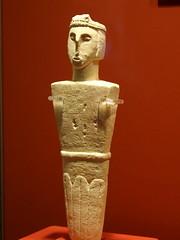 Male figure II (rgrant_97) Tags: figurines statuettes neolithic ancient musem gozo malta ggigantija