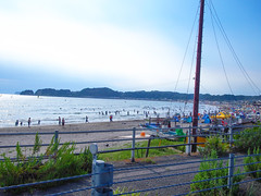 Yuigahama Beach (INZM.) Tags: japan japanese summer sea kamakura beach shonan hayama zushi       r134 134  yuigahama