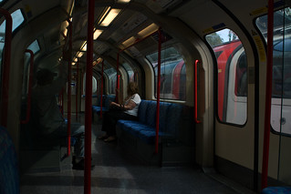 Daylight: Central Line Underground Carriage London
