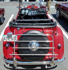1953 MG TD (splattergraphics) Tags: 1953 mg td mgtd carshow kentislandcruisers kentislandhighschool stevensvillemd