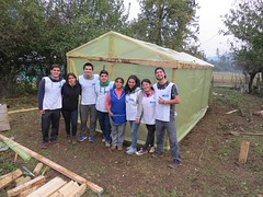 Construcción Participativa de Infraestructura Productiva para familias Lafkenches - Voluntarios Servicio País - Contulmo - Biobío - 2016