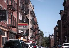 Fleet Street, Boston (John Bense) Tags: fleet street boston north end northend massachusetts city urban fireescape brick