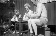 psNEGATIVES2_0006 (Rune Lind) Tags: johan holmens bilder gamle familiebilder far bror morogfar