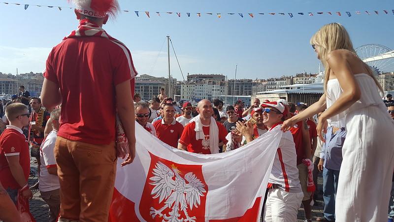 Francja, EURO 2016, cz. XI: Marsylia, przed meczem Polska - Portugalia..