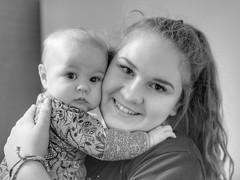 *toothache* (jeneksmith) Tags: gray grey bw monochrome blackandwhite baby love family portrait canon