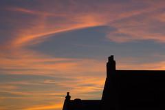 End of Terrace (ArtGordon1) Tags: davegordon davidgordon daveartgordon davidagordon daveagordon artgordon1 london england uk summer walthamstow august 2016 sunset silhouette silhouettes