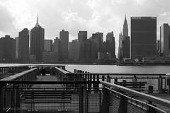 New York City   Midtown Skyline 01 (Christopher James Botham) Tags: nyc newyork newyorkcity new york city cityscape urban manhattan lic longislandcity longisland skyline architecture tower skyscraper midtown chryslerbuilding empirestatebuilding unheadquarters unhq unitednations eastriver river riverfront dock
