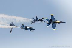Separation! (Patroller) Tags: blueangels fa18hornet seafair seattle washingtonstate usnavy airshow