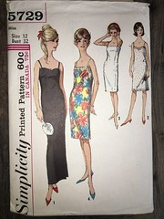 5729 (mrogers1@uw.edu) Tags: sewingpatterncollection dress slip lingerie 1960s vintage