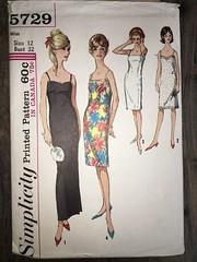 5729 (mrogers1@uw.edu) Tags: sewingpatterncollection dress slip lingerie 1960s vintage
