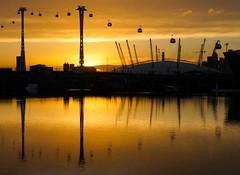 Fly Me to The Dome (McTumshie) Tags: england london unitedkingdom cablecar royalvictoriadock theo2 tfl londonist transportforlondon emiratesairline o2dome dangleway 14november2014 xm14