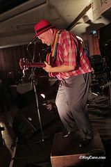 """Stompin' Dave Band at the Heathlands Boogaloo Blues Weekend December 2014 • <a style=""""font-size:0.8em;"""" href=""""http://www.flickr.com/photos/86643986@N07/15536129943/"""" target=""""_blank"""">View on Flickr</a>"""