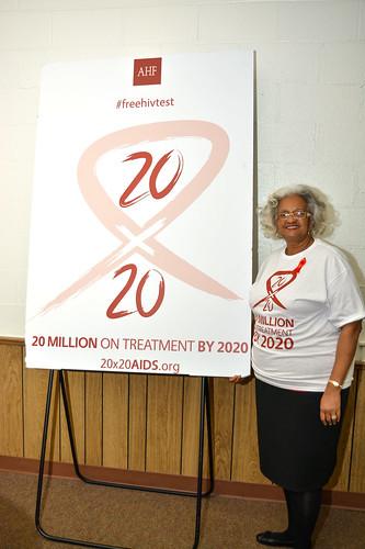World AIDS Day 2014 - USA: Charlotte, NC