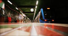 Northbound Train (*Kicki*) Tags: a850 northbound tube metro stockholm sweden kungsträdgården train sl c20 tunnelbana tunnelbanan tbana tbanan t tubespotting
