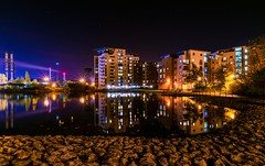 Cardiff Bay (technodean2000) Tags: county city uk wales night landscape bay nikon nightscape south cardiff sigma lightroom d5300