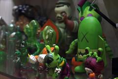 Kaws X Secret Base X dunny (Deadpute) Tags: green art toy secret kidrobot western kaws blitz base kaiju dunny muttpop koralie artoyz frankenghost kidmutant