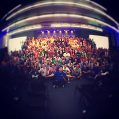 Imagine um auditório lotado com 450 empreendedores aprendendo sobre mkt digital! Bem-vindo ao Facebook Pro ❤️✈️🎉