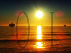 OIL (/\ltus) Tags: ocean california sunset sony platform gas socal oil southerncalifornia orangecounty oc theoc drilling dogsbeach nothdr dscwx300