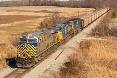 CREX 1332 EVWR HPH1 Belknap IN 10 Jan 2015 (Train Chaser) Tags: crex evwr evansvillewestern evwrhph1 crex1332