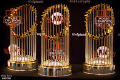 San Francisco Giants Commissioner's Trophy (billypoonphotos) Tags: world auto show news photography photo nikon san francisco media photographer tour baseball champs picture sanjose center valley convention series trophy sfgiants giants silicon trophies tiffany champions 2012 2010 mlb 2014 2015 commissioners mcenery d5200 sfgtrophy