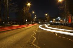 Fluid street 2 (TKCA photography) Tags: street light motion car night ipswich tkcadesign