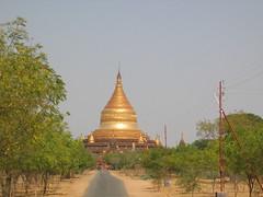 Gold Topped Pagoda Bagan