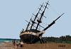 Beached! (peggyjdb) Tags: beach beagle argentina ship lego charles darwin repair hms britishhistory hmsbeagle